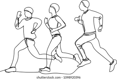 analysis blood finger stock vector royalty free 727601575 Arm Viens running man one line
