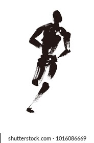 running  marathon  runner