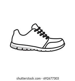 Running shoes icon Shoe Icon