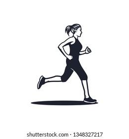 runnning sport vector
