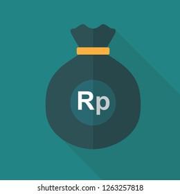 Rupiah Money Bag Icon