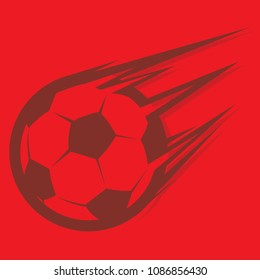 russia 2018 , world cup , speed football , soccer vector icon
