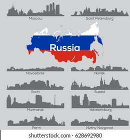 Russia cities skylines