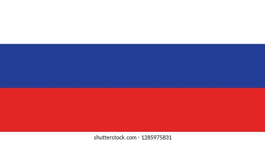 Russia Federation Flag