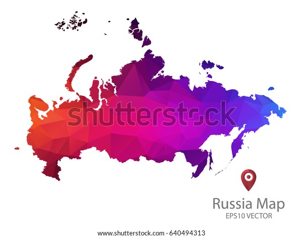 Russia Map Polygon Colorful Vector Illustrator Stock Vector ... on korea map, china map, poland map, australia map, united kingdom map, france map, iraq map, soviet union map, europe map, africa map, italy map, asia map, saudi arabia map, romania map, india map, baltic map, canada map, japan map, eurasia map, germany map,