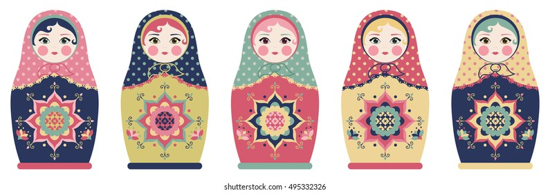 Russian Art Dolls