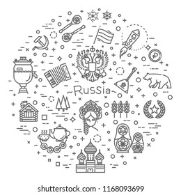Russian Culture Icons, Culture Signs of Russia, Traditions of Russia, Russian Life, National Objects of Russia
