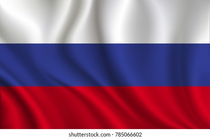 Russian Federation Flag background