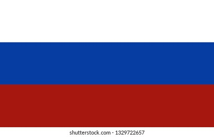 Russian flag. Background. Vector icon