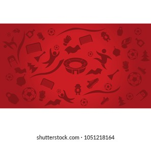 Russian theme vector wallpaper. Using  16:9 aspect ratio size.