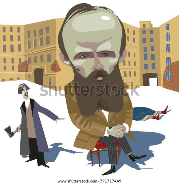 Russian writer Fedor Dostoevsky