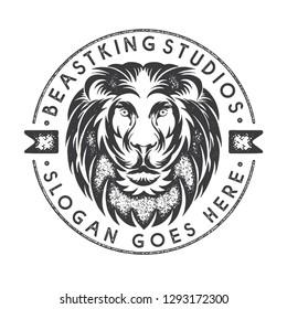 Rustic Lion Logo