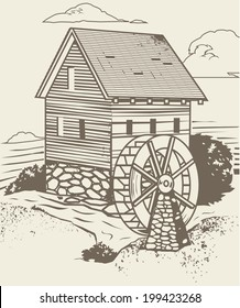 Rustic Old Mill