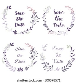 rustic vintage pastel template design layout stock vector royalty