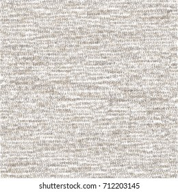 Rustic wool jersey texture. Graphic pattern. Abstract vector.
