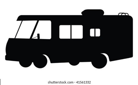 RV silhouette.