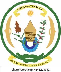 Rwanda Coat of arm