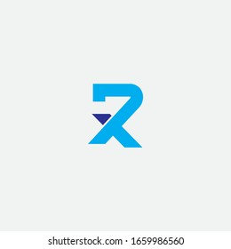 RX logo design and sign