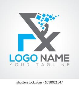 RX Logo Vector EPS