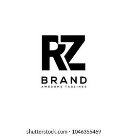 RZ letter monogram logo