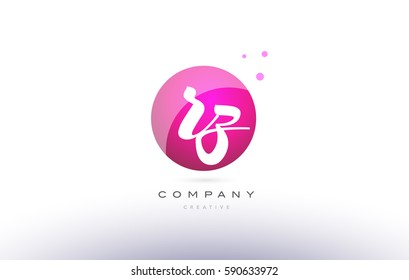 rz r z  sphere pink 3d alphabet company letter combination logo hand writting written design vector icon template