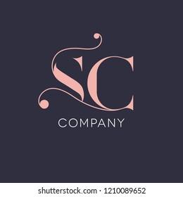 S C vintage logo