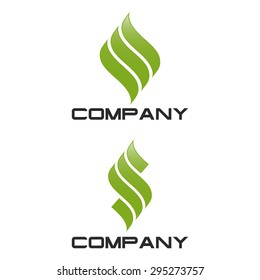 S company linked letter logo