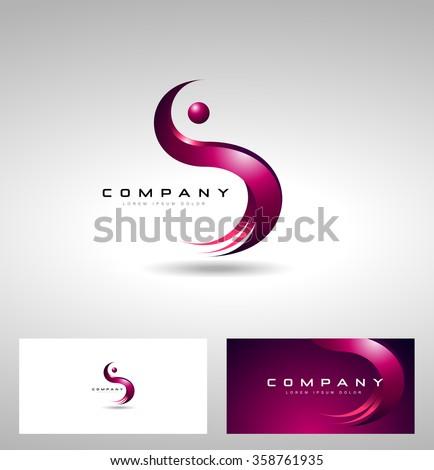 vetor stock de s letter logo design creative vector livre de