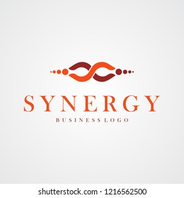 S letter logo template for business and healthy