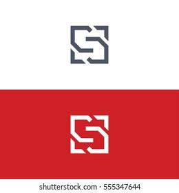 S logo concept vector