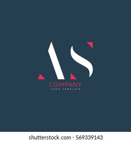 A S logo design for Corporate