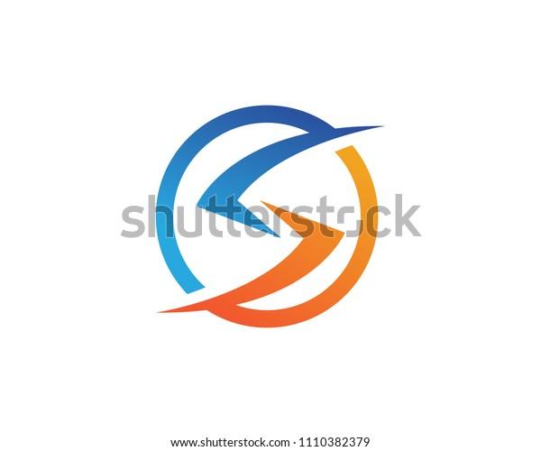 S logo symbols template vector icons
