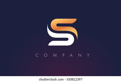 S Logo.S Letter Icon Design Vector Illustration.