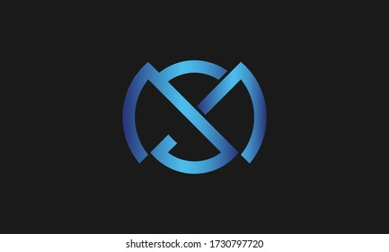 S , M , SM , MS letter logo design and monogram logo. Initial letter sm/ms logotype company name design.