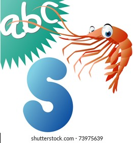 S is for Shrimp
