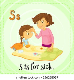 S is for sick