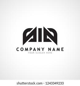s i s sis black initial logo