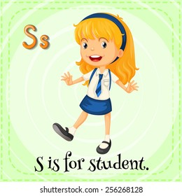 S is for student