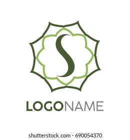 S traditional logo