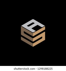 SA Initial logo Vector