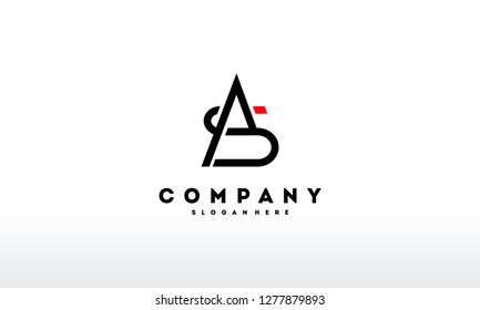 SA AS Logo designs, SA AS initial logo template