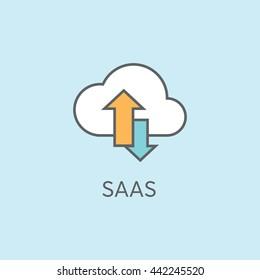 SAAS Vector Icon