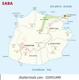 saba road map