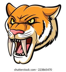 Saber Tooth Mascot