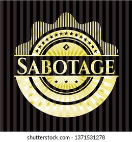 Sabotage gold emblem