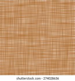 Sacking. The brown background imitating fabric