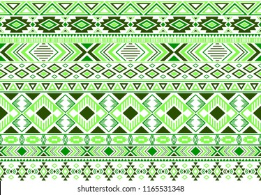 Sacral tribal ethnic motifs geometric seamless background. Cool gypsy geometric shapes sprites tribal motifs clothing fabric textile print traditional design with triangles