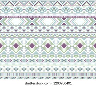 Sacral tribal ethnic motifs geometric seamless background. Rich geometric shapes sprites tribal motifs clothing fabric textile print traditional design with triangles