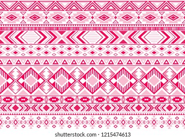 Sacral tribal ethnic motifs geometric vector background. Beautiful geometric shapes sprites tribal motifs clothing fabric textile print traditional design with triangles