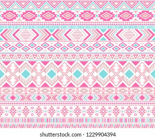 Sacral tribal ethnic motifs geometric seamless background. Graphic geometric shapes sprites tribal motifs clothing fabric textile print traditional design with triangles